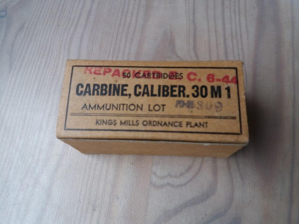 Boite de .30 carbine  1118