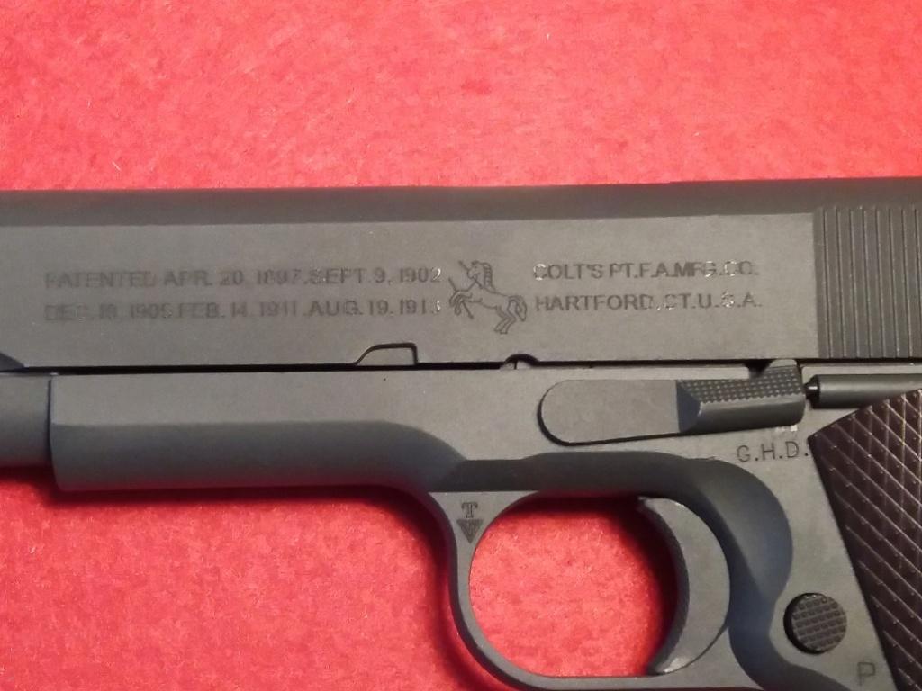 Meilleure réplique airsoft tout métal de Colt 1911 A1 ? 342