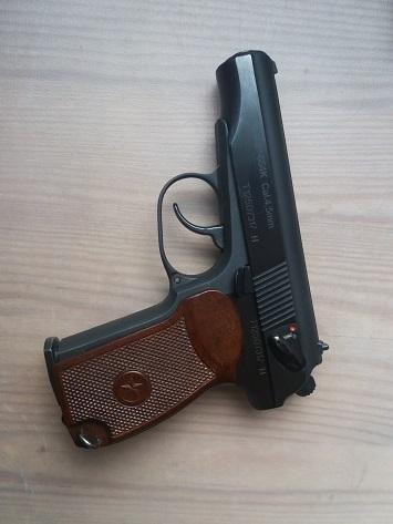 Baïkal Makarov MP 654  (4,5 mm CO 2) 343
