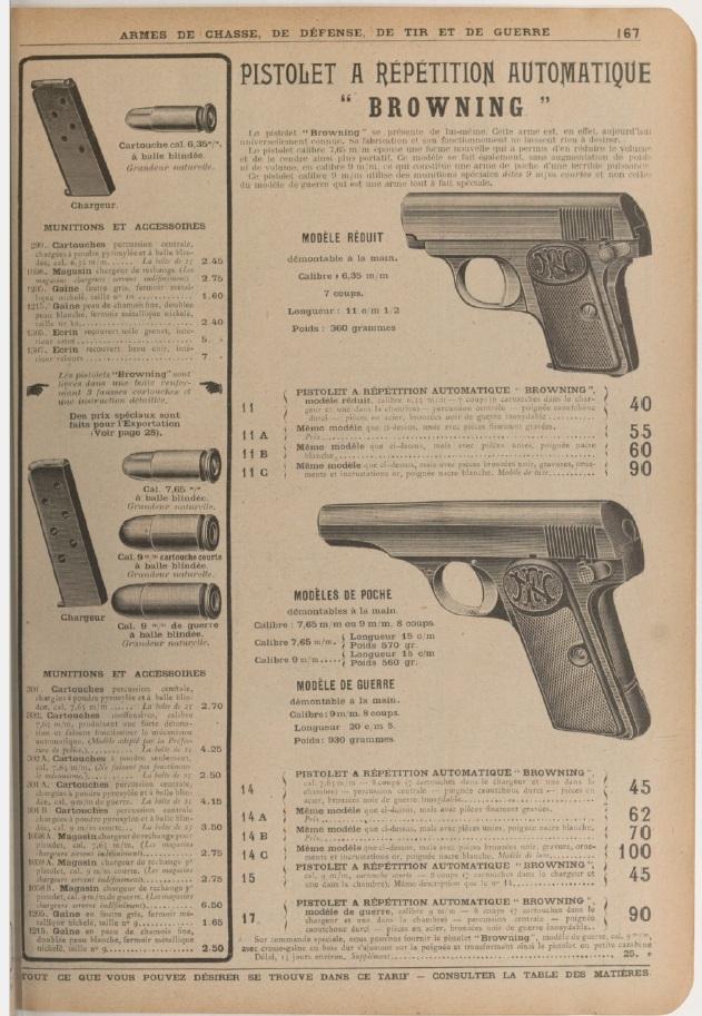 FN 1910 inhabituel Manufr10