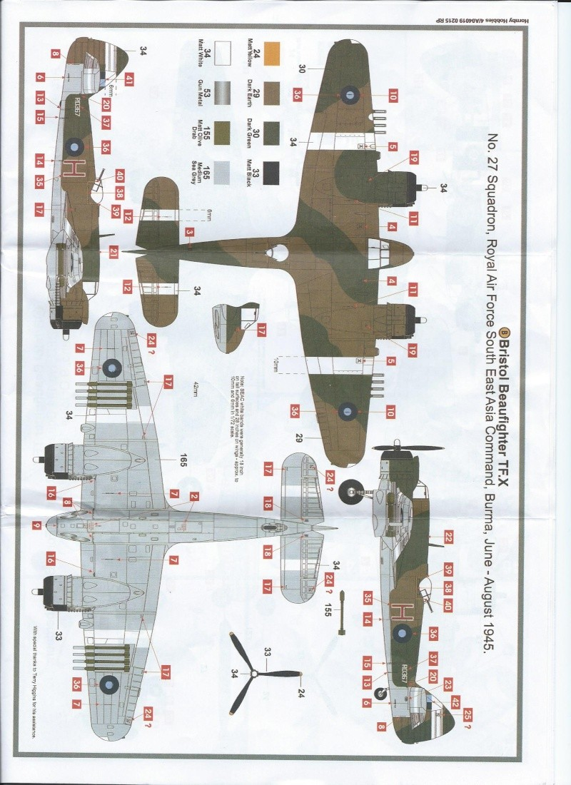 [AIRFIX] BRISTOL Beaufighter TF.X Beaufi13