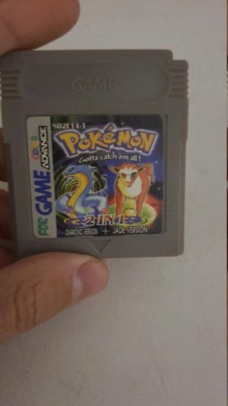 [EST] Bootleg Pokémon Diamond et Jade Nintendo GB 20201214