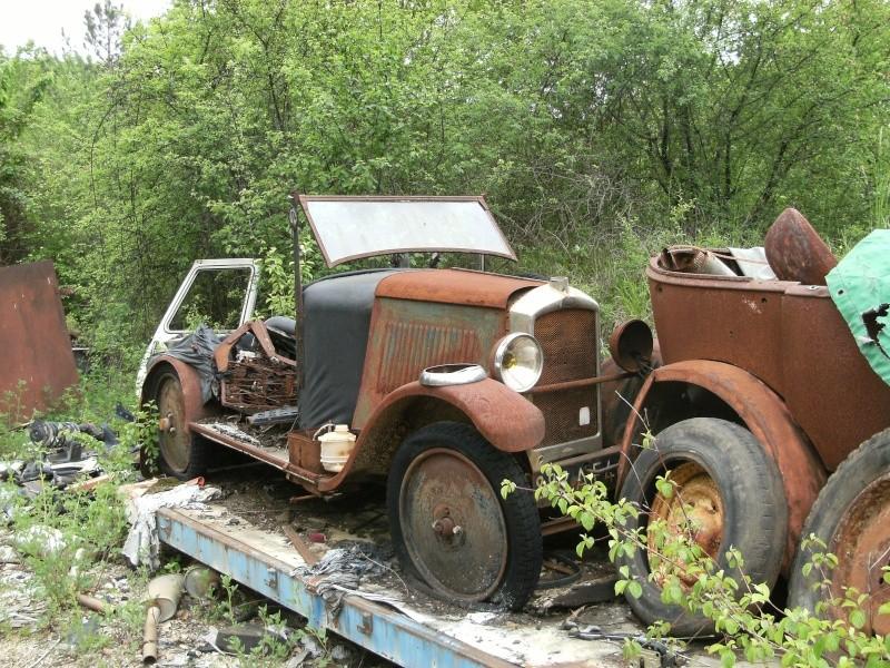 Les voitures abandonnées/oubliées (trouvailles personnelles) - Page 5 Dscf4810