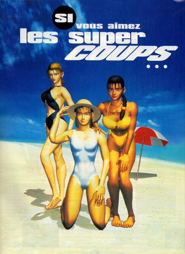 Les pubs magazines JV des années 90 Tekken10