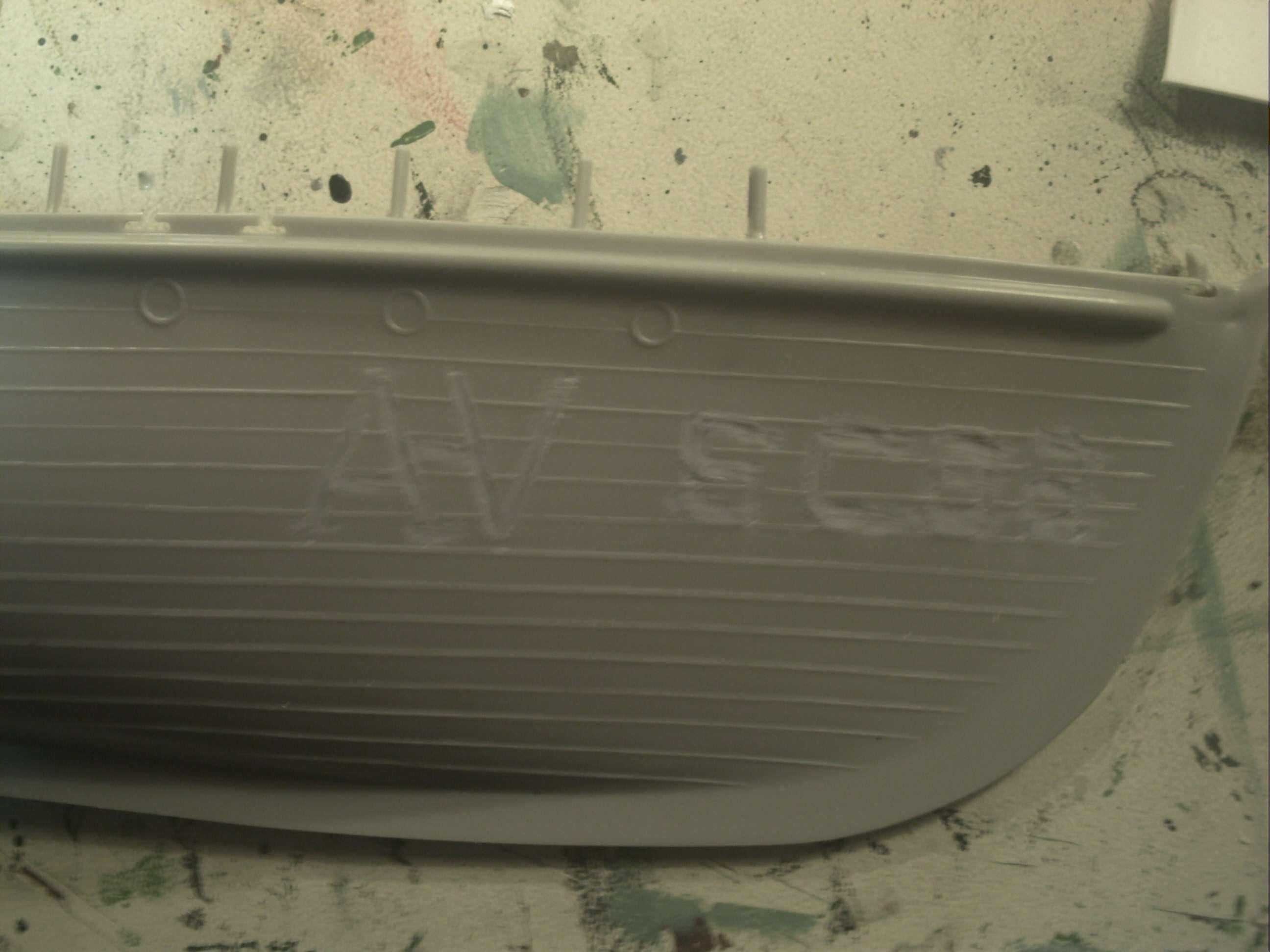 SUBCHASER de marque Glencoe à l'échelle 1/74ème Phto0023