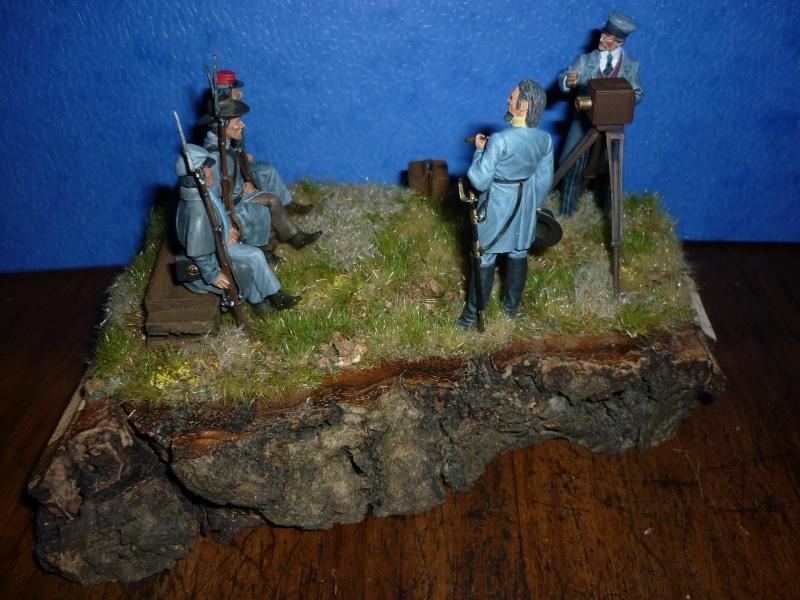 """3è Rgt de Volontaires de Georgie - Richmond Hiver 1861-1862  """"""""TERMINE"""""""" 1a10"""