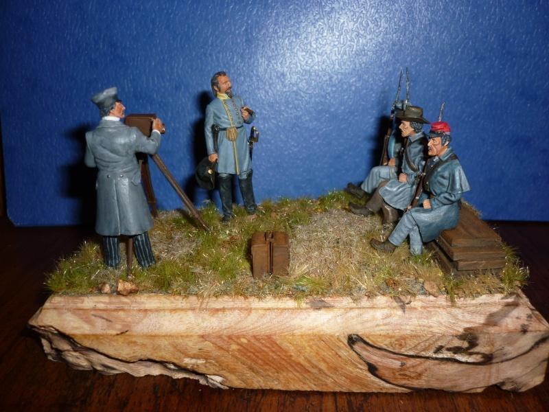 """3è Rgt de Volontaires de Georgie - Richmond Hiver 1861-1862  """"""""TERMINE"""""""" 310"""