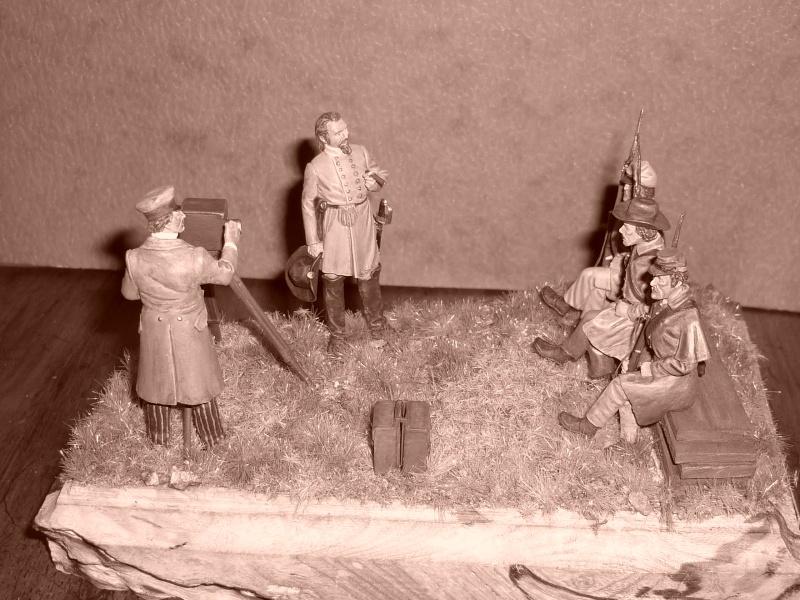 """3è Rgt de Volontaires de Georgie - Richmond Hiver 1861-1862  """"""""TERMINE"""""""" 610"""