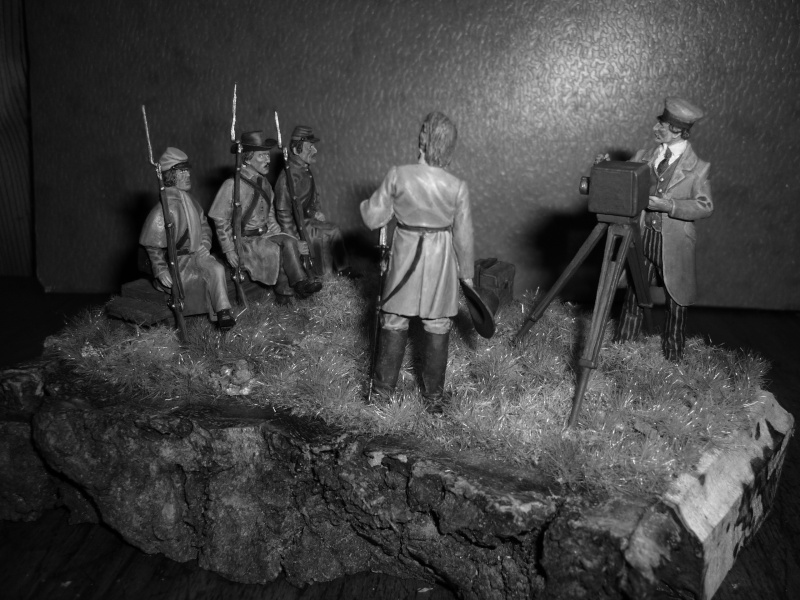 """3è Rgt de Volontaires de Georgie - Richmond Hiver 1861-1862  """"""""TERMINE"""""""" 710"""
