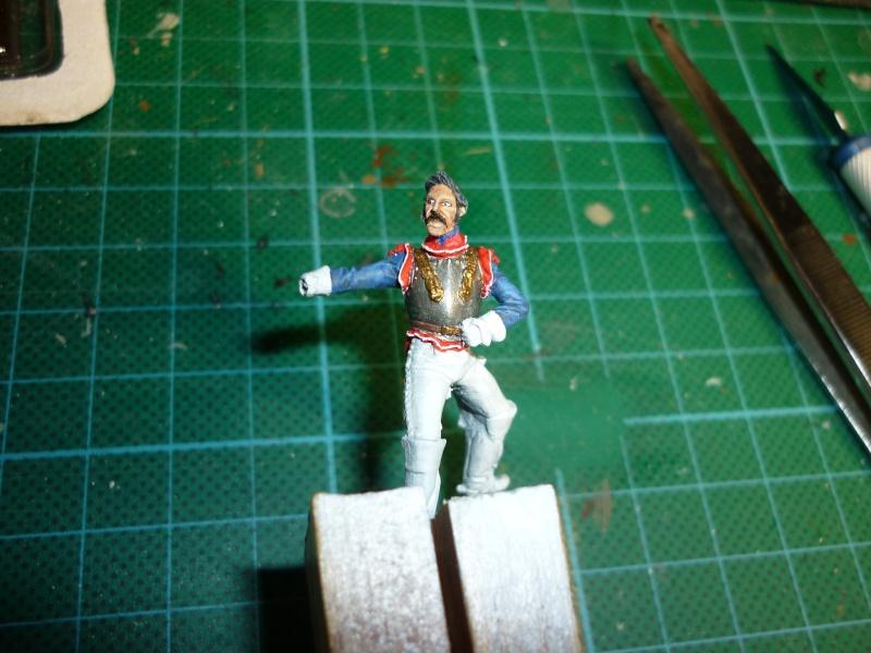 La Capture, bataille des Quatre bras 1815 --------TERMINE--------- P1060811