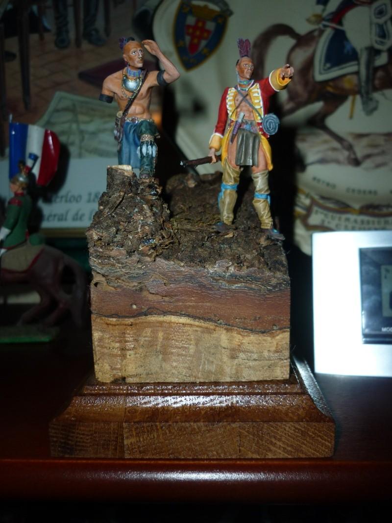 GUERRES INDIENNES - MOHAWK - 1756/1763  ----TERMINE ------- P1070021
