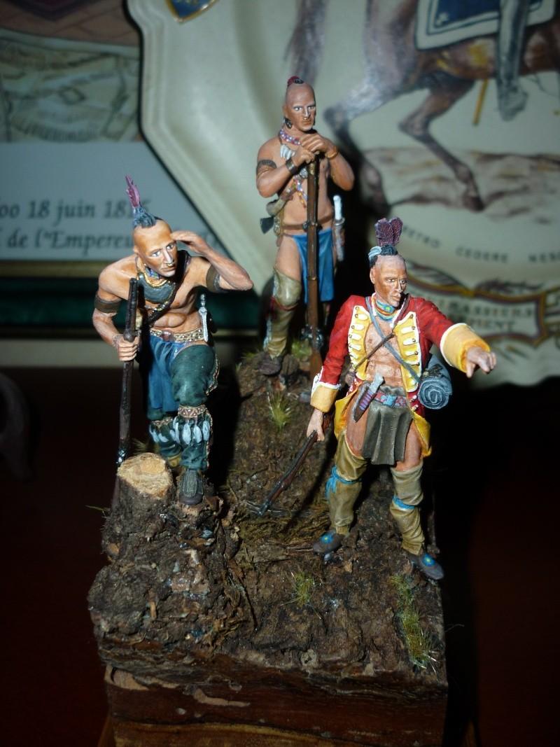 GUERRES INDIENNES - MOHAWK - 1756/1763  ----TERMINE ------- P1070111