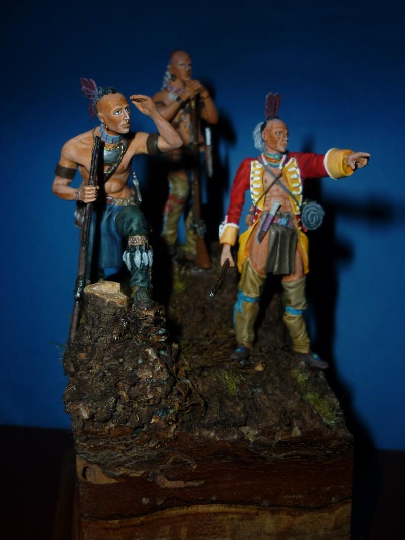 GUERRES INDIENNES - MOHAWK - 1756/1763  ----TERMINE ------- P1070113