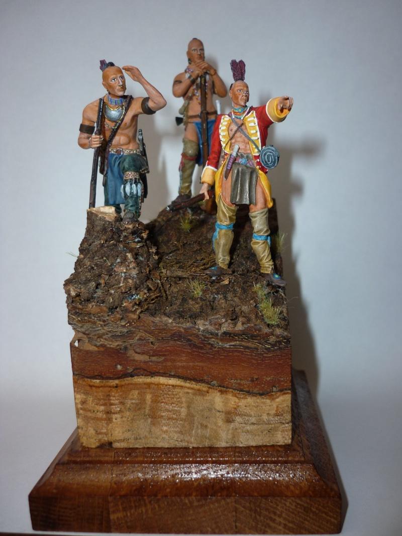 GUERRES INDIENNES - MOHAWK - 1756/1763  ----TERMINE ------- P110