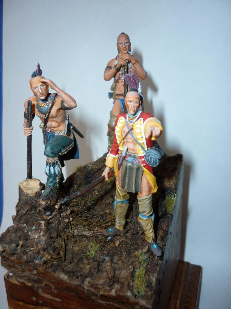 GUERRES INDIENNES - MOHAWK - 1756/1763  ----TERMINE ------- P310