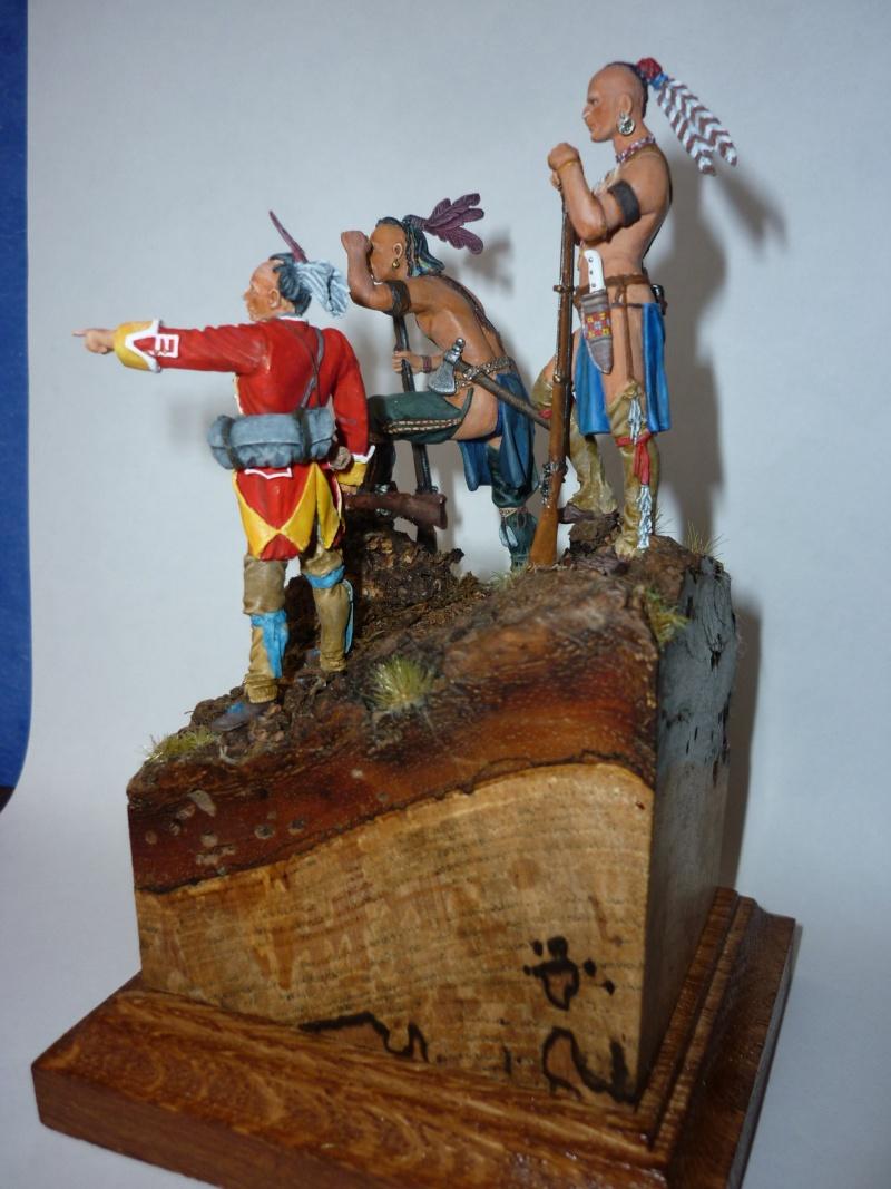 GUERRES INDIENNES - MOHAWK - 1756/1763  ----TERMINE ------- P810