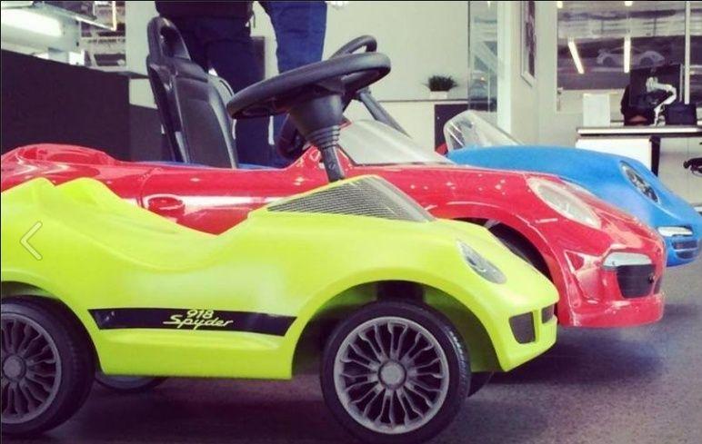 Porsche pour enfants Enfant10