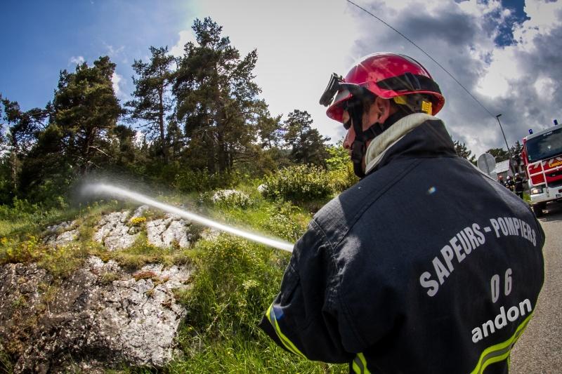 Sapeurs pompiers Andon