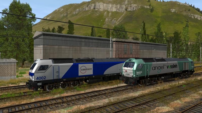 Euro 4000 d'Alpha-trains et les autres Giraud44