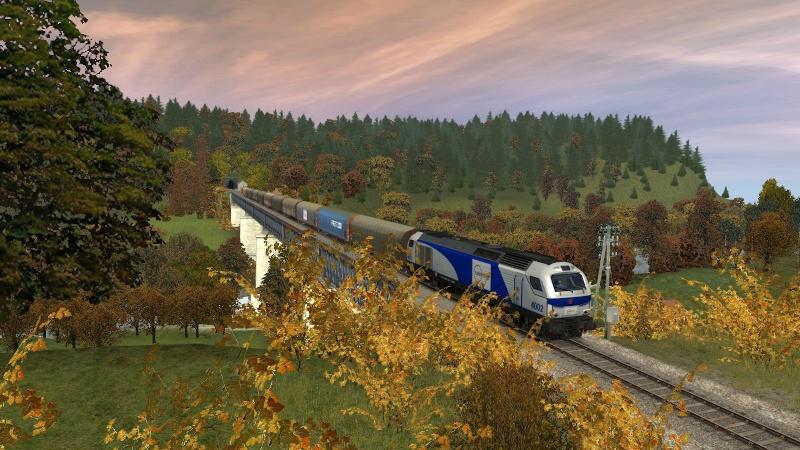 Euro 4000 d'Alpha-trains et les autres Giraud45