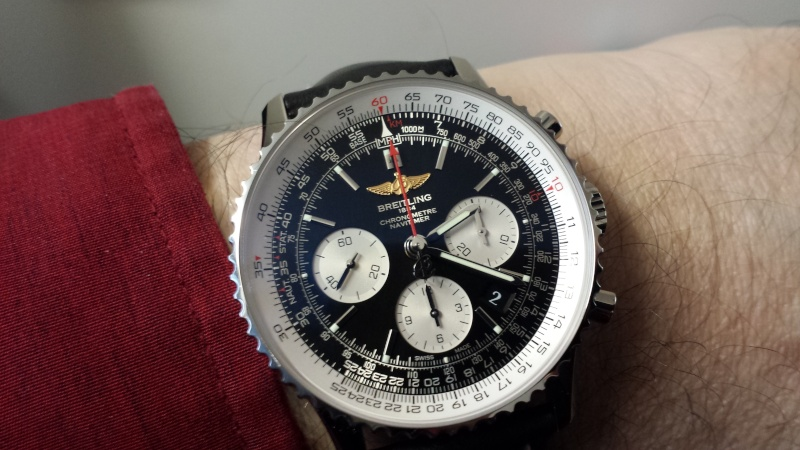 Breitling - Que choisir ? zenith vs breitling - Page 3 20141210