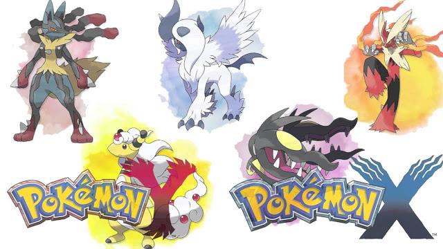 Pokémon X et Y Pokemo10