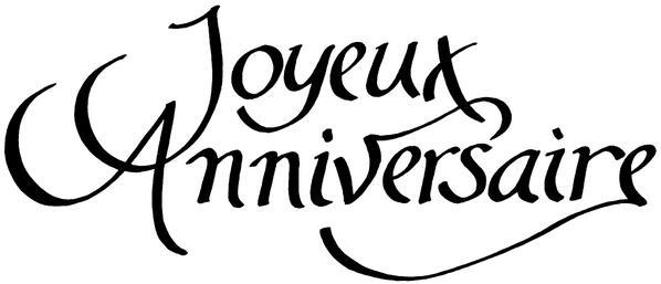 JOYEUX ANNIVERSAIRE BONBON ROSE Sans-t14