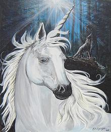 Licornes, centaures et chevaux ailés 220px-10
