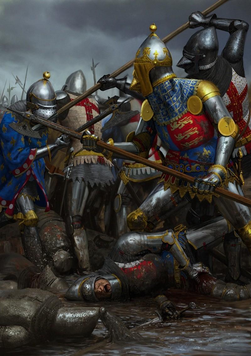Bataille Azincourt 25 octobre 1415 Aginco10