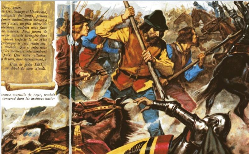 Bataille de Morgarten 15 novembre 1315 Captur12