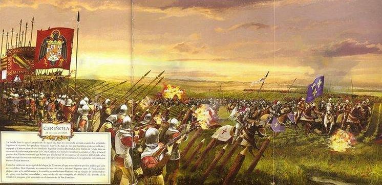 La bataille de Cerignole: 28 Avril 1503 Cerign10