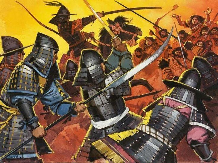 Bataille de Nagashino: ou la fin du clan Takeda D8b84410