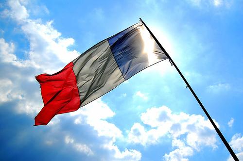 Petite histoire du drapeau français Drapea11
