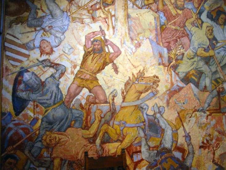 Bataille de Morgarten 15 novembre 1315 Leplat10