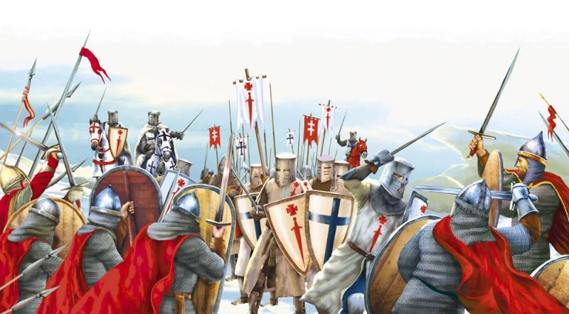 Bataille du lac de Peipus 5 avril 1242: la part du mythe Livoni10
