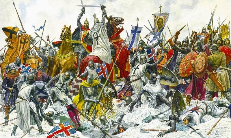 Bataille du lac de Peipus 5 avril 1242: la part du mythe Peipus10