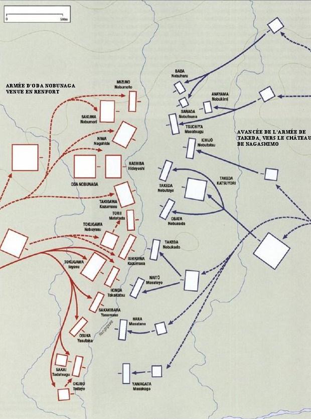 Bataille de Nagashino: ou la fin du clan Takeda Strat110
