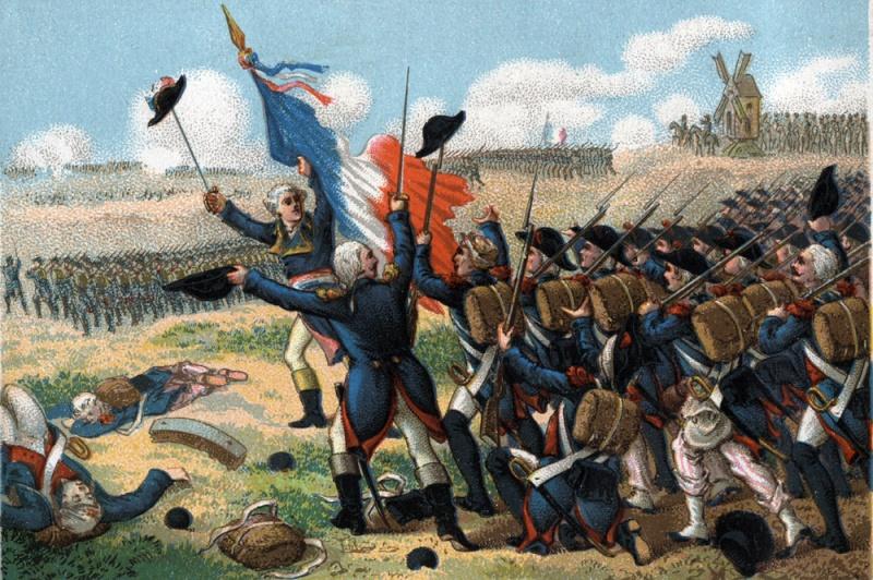 Bataille de Valmy 20 septembre 1792 : une victoire symbolique, fondatrice de l'histoire nationale Valmy10