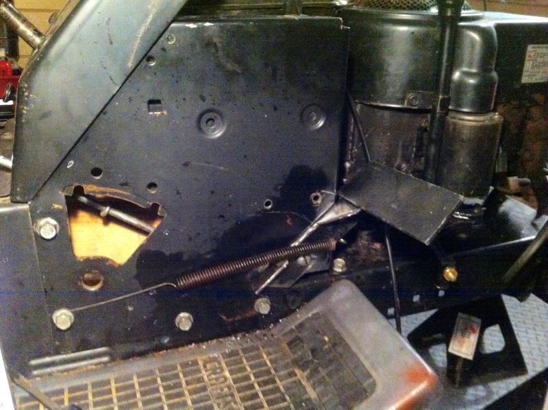 94 craftsman race/ rally/ rat rod mower Img_2515