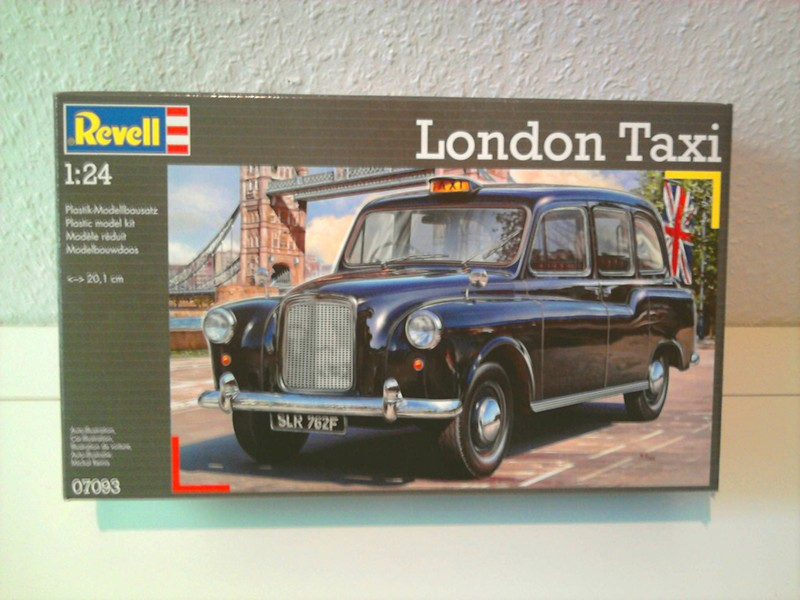 revell london taxi 1 24. Black Bedroom Furniture Sets. Home Design Ideas