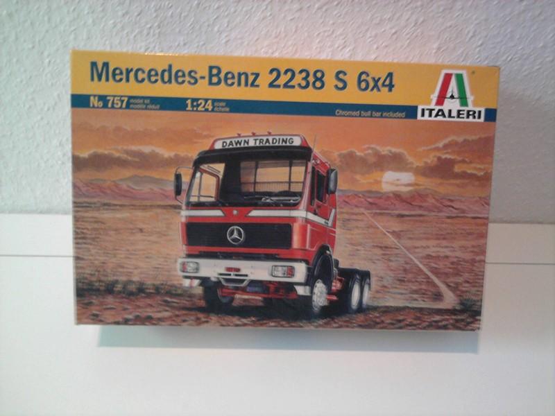 Mercedes Benz 2238 S 6x4 - Italeri, 1:24 01_11