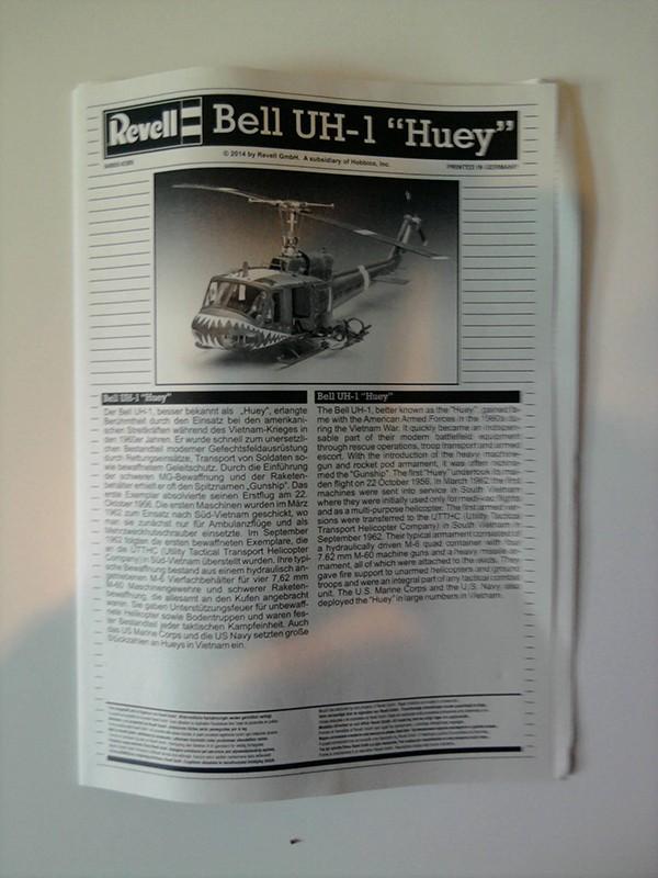 "Bell UH-1 ""Huey"" / Revell, 1:24 1010"