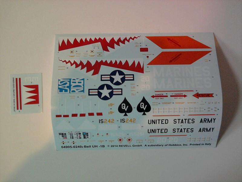"Bell UH-1 ""Huey"" / Revell, 1:24 1210"