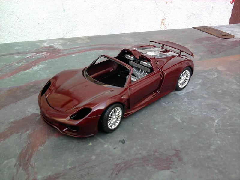 Revell Porsche 918 Spyder 1:24 Foto5310