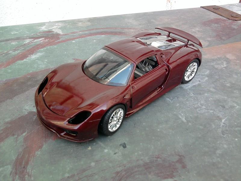 Revell Porsche 918 Spyder 1:24 Foto5311