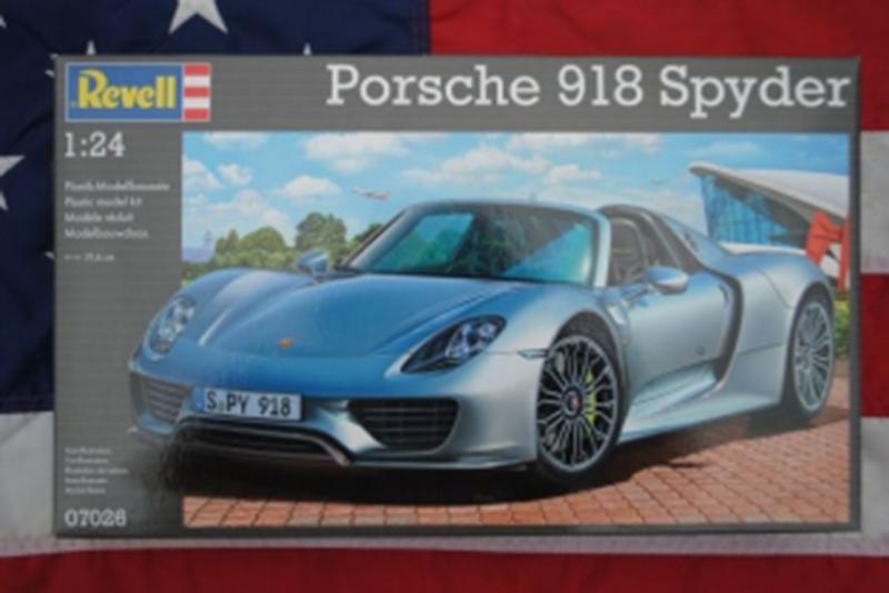 Revell Porsche 918 Spyder 1:24 Porsch10