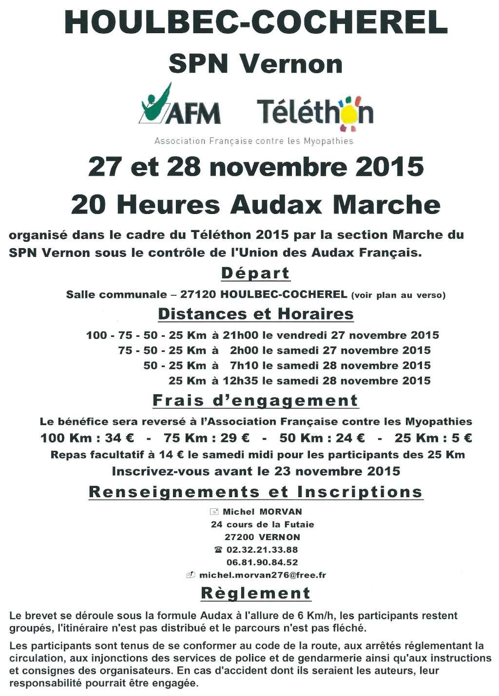 Une marche Téléthon type Audax   le 27 et 28 Novembre  Tylyth10