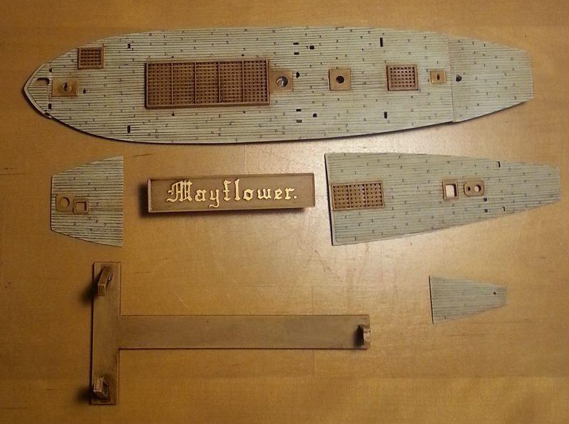 Mayflower / Revell, 1:83? Comp_212