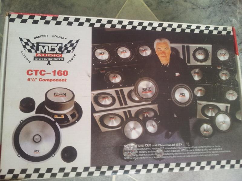 "MTX 6.5 "" car component set ( Sold) 20151113"