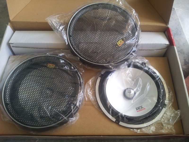"MTX 6.5 "" car component set ( Sold) 20151114"